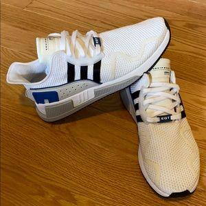 Adidas EQT Cushion ADV White/Black/Blue Mens 10.5